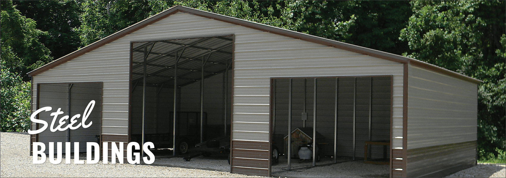 Storage Shelters Michigan : Storage sheds barns buildings mid valley structures